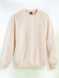John Blair® Cotton Crewneck Sweater