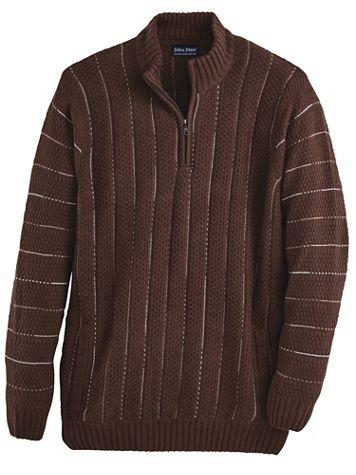 John Blair® Jacquard Sweater - Image 1 of 3