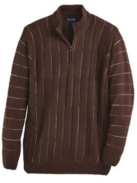 John Blair® Jacquard Sweater