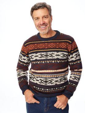 John Blair Crewneck Novelty Sweater