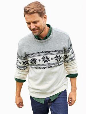 John Blair Fair Isle Sweater