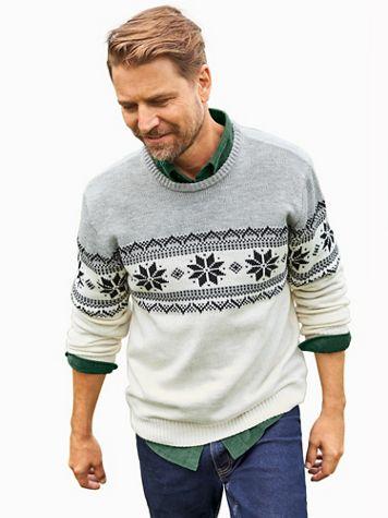 John Blair Fair Isle Sweater - Image 2 of 2