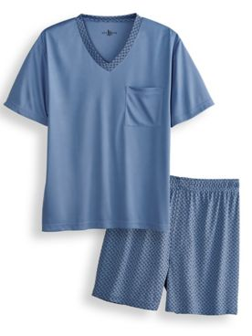 John Blair® Short Micropoly Sleep Set