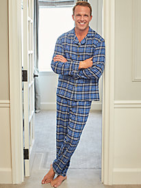 Scandia Woods Flannel Pajamas by Blair