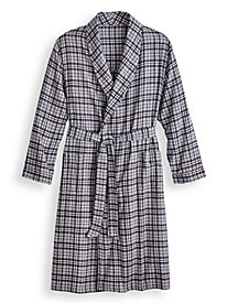 Scandia Woods Flannel Robe by Blair