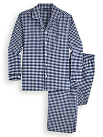 John Blair® Broadcloth Long Pajamas by Blair