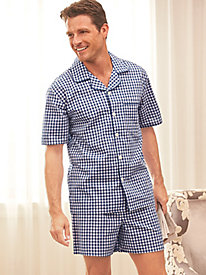 John Blair® Broadcloth Short Pajamas by Blair