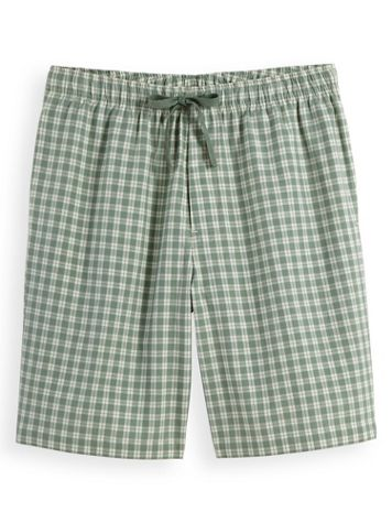 Scandia Woods Woven Plaid Sleep Shorts - Image 1 of 3