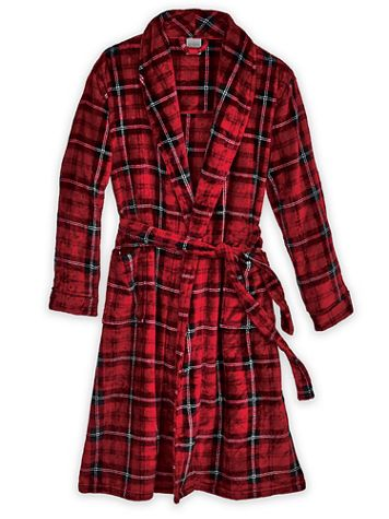 Scandia Woods Microfleece Robe - Image 2 of 2