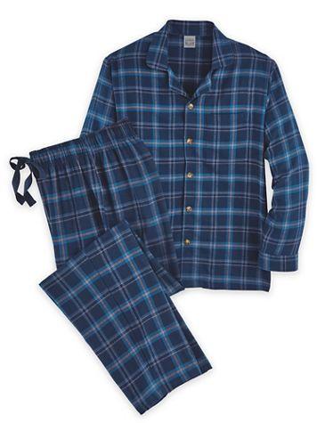 Scandia Woods Flannel Pajamas - Image 2 of 2