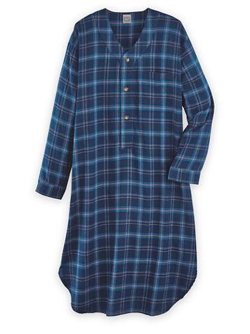 John Blair Flannel Sleep Nightshirt - Image 1 of 4