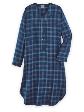 Scandia Woods Flannel Nightshirt