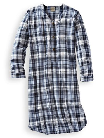 Scandia Woods Flannel Nightshirt