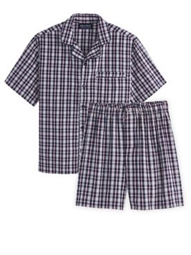 John Blair Broadcloth Short Pajamas