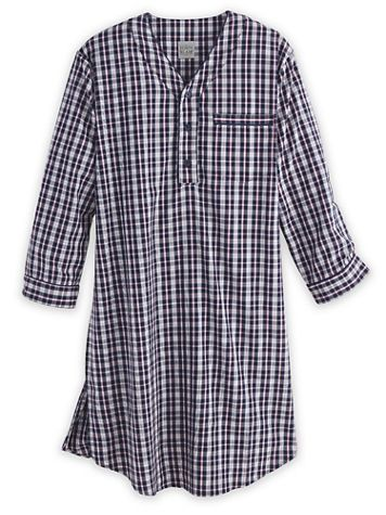 John Blair Broadcloth Nightshirt - Image 1 of 4