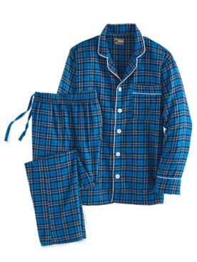 Khombu Flannel Pajama Set