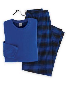 John Blair® Flannel Sleep Set