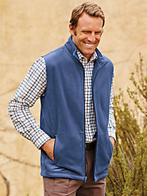Scandia Fleece Vest by Blair
