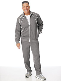 Scandia Woods Piped Fleece Jog Suit