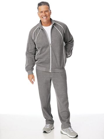 Scandia Woods Piped Fleece Jog Suit - Image 1 of 3