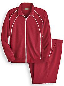 Scandia Woods Piped Fleece Jog Suit