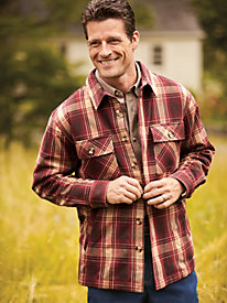 Scandia Woods Flannel Jacket
