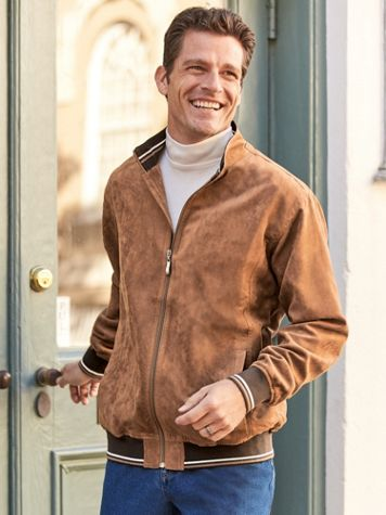 Scandia Woods Water Resistant Suede-Touch Jacket - Image 0 of 1