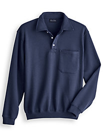 Four-Season Fleece Polo