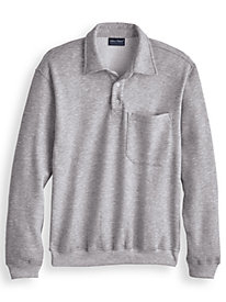 Four-Season Fleece Polo by Blair