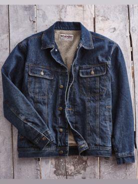 Wrangler® Sherpa-Lined Jean Jacket