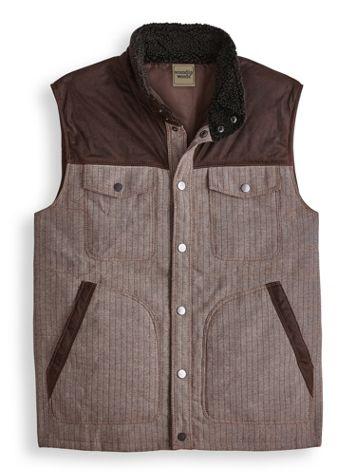 Scandia Woods Herringbone Vest