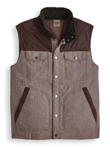 Scandia Woods Herringbone Vest - Image 2 of 2