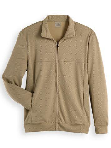 Scandia Woods Textured Fleece Jacket