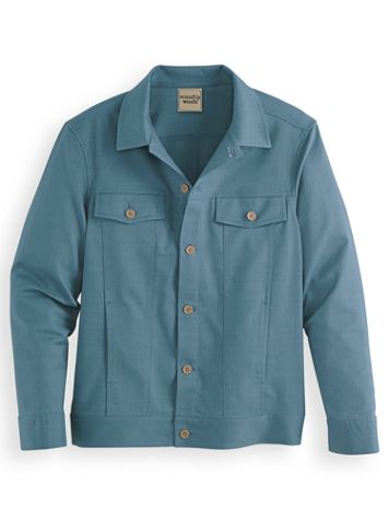 Scandia Woods Linen-Look Jacket - Image 1 of 1