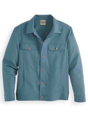 Scandia Woods Linen-Look Jacket - Image 0 of 1