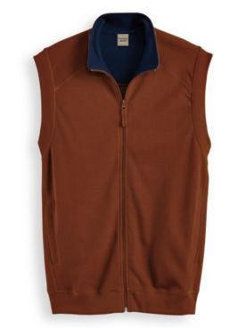 Scandia Woods Knit Zip-Front Vest