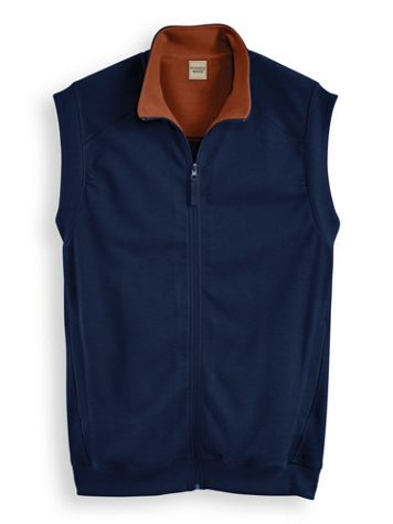 Scandia Woods Knit Zip-Front Vest - Image 3 of 3