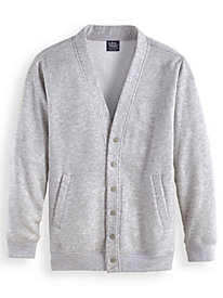 John Blair® Four-Season Fleece Cardigan