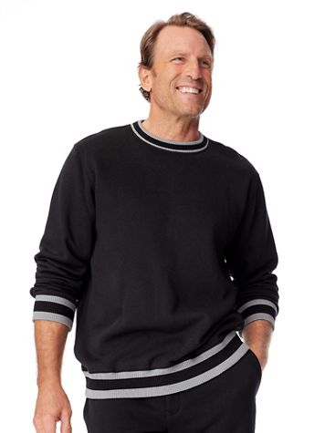 John Blair® DURAfleece Crewneck