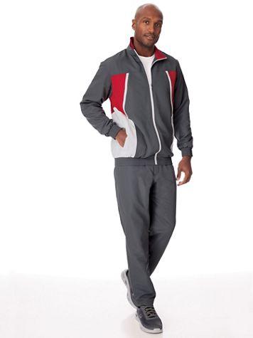 Irvine Park Colorblock Jog Suit - Image 1 of 5