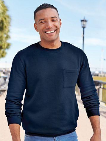 Fleece Sweatshirt with Pockets - Image 3 of 3