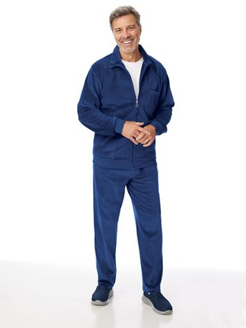 John Blair Velour Solid Jog Suit - Image 1 of 3