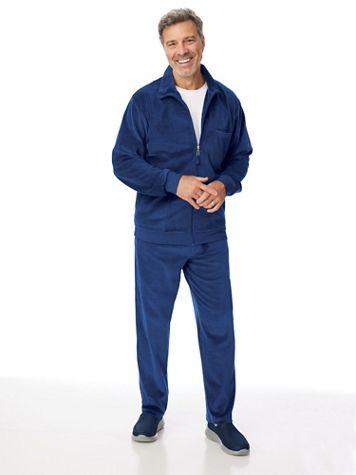 John Blair Velour Solid Jog Suit - Image 1 of 4