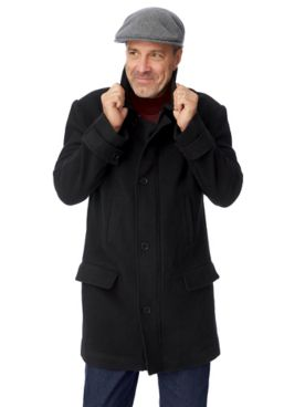 John Blair Signature Wool-Blend Car Coat