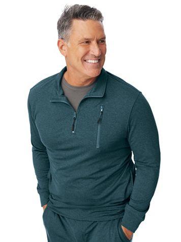 Scandia Woods Ultra-Fleece Quarter-Zip Sweatshirt - Image 1 of 5