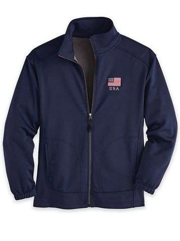 Patriotic Soft-Shell Jacket - Image 2 of 2