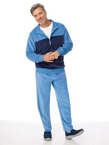 John Blair Tonal Velour Jog Suit - Image 1 of 4