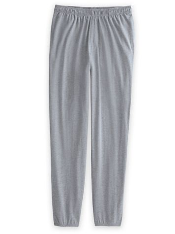 John Blair Elastic Hem Jersey Pants - Image 1 of 5