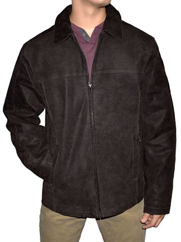 Victory Distressed Leather Jacket - Image 3 of 3