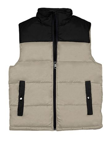 Victory Colorblock Sherpa-Lined Vest - Image 1 of 3